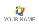 Zeichen, Zeichnung, Vier Farben Logo