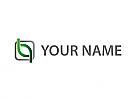 Zwei Halbkreise und Rechteck Logo