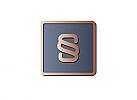 §,Zeichen, zweifarbig, Steuerberater, Rechtsanwalt, exklusives Logo