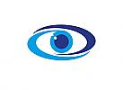 Zeichen, zweifarbig, Symbol, Signet, Logo, Auge, Augenarzt, Optiker