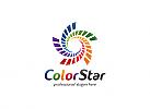 Ö, Spiralen, Stern, bunt, Druckerei, Medien, Daten, Marketing, Beratung, Consulting Logo