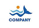 Welle Flosse Logo