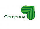 Blatt Herz Logo