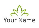 Zeichen, Zeichnung, Viele Blätter, Blume, Pflanze, Logo