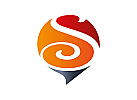 Zeichen, Signet, Symbol, Kugel, Sprechblase, Buchstabe, S, Logo