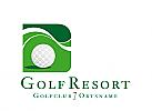 XYK, Zeichen, Signet, Golfball, Golf, Golfhotel, Golfanlage