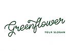 Logo Blumengeschäft, Gärtnerei