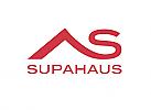 Zeichen, Signet, Symbol, Haus, Dach, Buchstabe, S, Logo