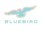 Zeichen, zweifarbig, Signet, Symbol, Logo, Vogel, Adler, Bluebird