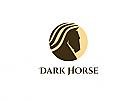 Zeichen, Investitionen Logo, Pferde, Immobilien, Fonds, Finanzen, Geld, Investition