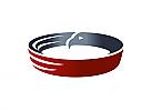 Zeichen, zweifarbig, Signet, Symbol, Ring, Adler, Logo