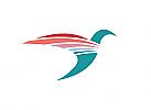 Zeichen, Zeichnung, Signet, Symbol, Vogel, Kolibri, Bird, Logo
