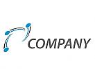 Öko, Daten, Vision, Kreise, Kugel und Halbkreise, Logo