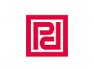 XYK, Quadrat, Muster, Initiale P, P, Marke, Markenzeichen,