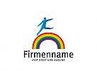 XYK, Mensch, Regenbogen, Markenzeichen, Farben, Maler, Veranstalter, Creative
