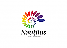 Ö, Spirale, Nautilus, Farbspektrum, Regenbogen,  Druckerei, Copyshop, Marketing, Media bunt