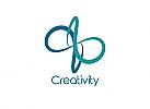 Zeichnung, Zweifarbig, zeichen, Signet, Symbol, Schleife, Infinity, Logo