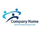Zeichen, Marke, drei Menschen, Consulting, Coaching, Beratungsagentur