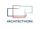 Zeichen, Zeichnung, Signet, Symbol, Grundriss, Planung, Immobilie, Architekt, Logo
