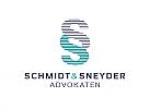 §, Zeichen, zweifarbig, Rechtsanwalt, Steuerberater, Logo