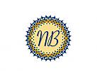 Zeichen, Marke, Muster, Initiale, N und B