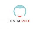 Ökozähne, Zähne, Zahn, Zahn, Strahlen, Smile, Logo