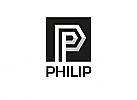 Zeichen, Signet, Symbol, Buchstabe, P, Logo