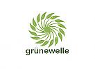 Ökologie, Zeichen, Signet, Symbol, Gartenbau, Natur, Kreislauf, Logo