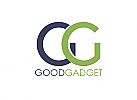 Zeichen, zweifarbig, Signet, Symbol, Kreise, G, Logo