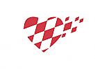 Zeichen, Signet, Symbol, Herz, Kardiologie, Arztpraxis, Logo