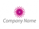 Ökomedizin, Blume, Muster, Logo