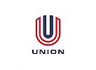 Zeiche, zweifarbig, Signet, Symbol, Wappen, U, Logo