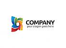 Ö, Zeichen, Zeichnung, Stern, Blume, farbig, Multimedia, Marketing, Gruppe, Verbindung, Beratung Logo