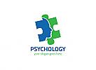Ö,Zeichen, Signet, Symbol, Kopf, GesichtPsychotherapie, Psychologie, Geduldspiel, Puzzle Logo