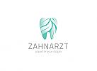 Ökozähne, Zähne, Blatt, Zahnarzt, Zahn, Zahnmedizin, Logo, Natur
