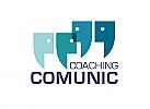 Zeichen, Signet, Symbol, Menschen, Coaching, Kommunikation, Netzwerk, Logo