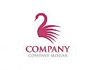 Schwan Logo, Spa Logo, Massage Logo, Hotel, Firma Logo, Unternehmen Logo, Beratung Logo, Logo, Grafikdesign, Design, Branding