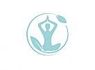 Zeichen, Signet, Symbol, Yoga, Meditation, Achtsamkeit, Logo