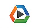 Medien logo, Bunt logo, Firma Logo, Unternehmen Logo, Beratung Logo, Logo, Grafikdesign, Design, Branding