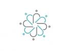Zeichen, zweifarbig, Signet, Symbol, Menschen, Gruppe, Netzwerk, Community, Logo