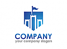 Burg logo, Schild logo, Turm logo, Firma Logo, Unternehmen Logo, Beratung Logo, Logo, Grafikdesign, Design, Branding