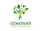 Ökologie Logo, Blume Logo, Natur Logo, Wellness, Spa, Kosmetik, Massage, Hotel