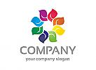 Blatt Logo, Natur Logo, Liebe, Hände Logo, Pflege Logo, Garten Logo, Firma Logo, Unternehmen Logo, Beratung Logo, Logo, Grafikdesign, Design, Branding