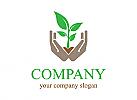 Öko logo, Bio logo, Natur logo, Hände logo, Firma Logo, Unternehmen Logo, Beratung Logo, Logo, Grafikdesign, Design, Branding