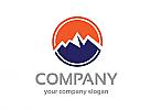 Berg logo, Spitze logo, Tourismus logo, Firma Logo, Unternehmen Logo, Beratung Logo, Logo, Grafikdesign, Design, Branding