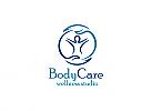 Ö, Zeichen, Signet, Person, Care, Pflege, Therapie, Massage, Körperpflege Logo