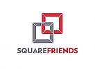 Zeichen, zweifarbig, Signet, Quadrat, Verbindung, Einheit, Rechtsanwalt, Logo