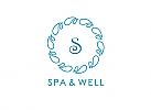 Zeichen, Signet, Symbol, S, Wasser, Tropfen, Klempner, Spa, Wellness, Logo