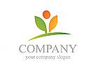 Öko logo, Grün logo, Natur, Blume, Ökologie, Agrar, Grün