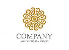 Schmuck, Dekoration, Blume, Hotel, Luxus, Logo